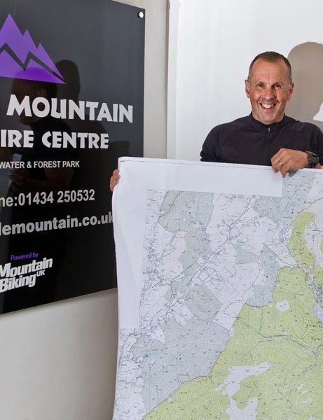 Purple Mountain bike hire centre powered by MBUK