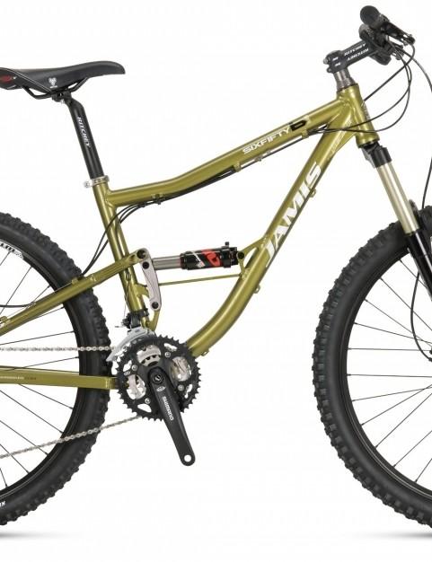 The US $2,875 2010 Jamis Dakar Sixfifty B1 full suspension bike.