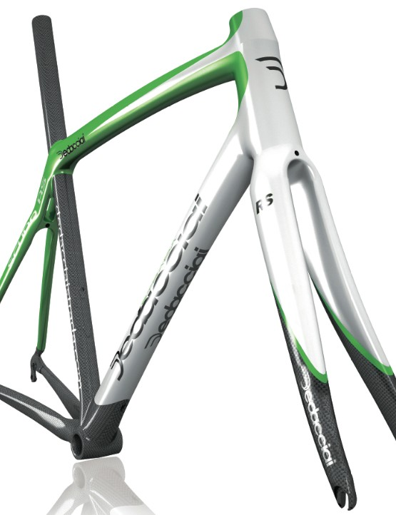 The Dedacciai Scuro RS frameset.