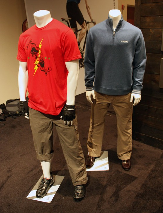 Casual clothing from Bontrager, too? Yup.