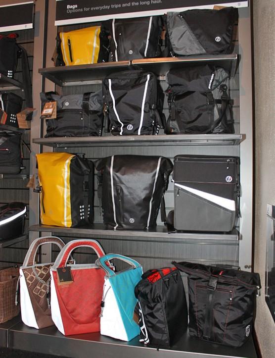 Bontrager's range of bags is impressively broad for 2010
