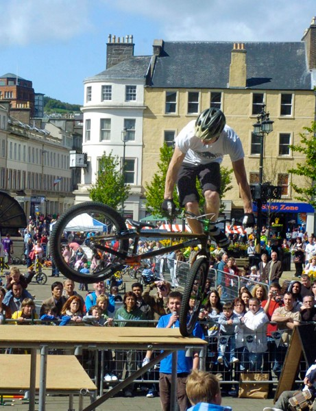 The Scottish Government hopes cycling events will encourage people to get on their bikes