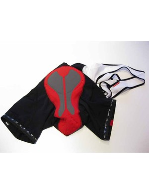 The chamois from the Solo Lugged bib shorts