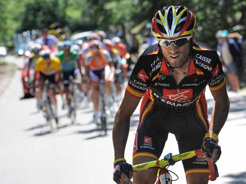 Alejandro Valverde is one of the riders to watch in this year's Vuelta