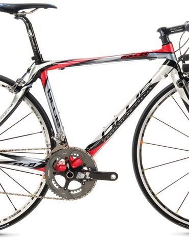 Blue Competition Cycles RC8 carbon road bike