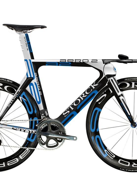 The 2010 Storck Aero 2 carbon time trial bike.