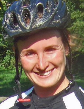 Natasha Litherland, winner of the Garmin MTB Day at Queen Elizabeth Park in Hampshire