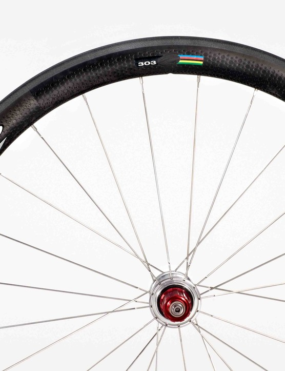 The new Zipp 303 Cyclo-cross wheels.