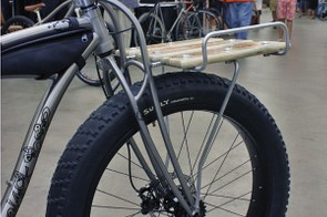 Black Sheep's titanium truss fork is supposedly light and comfortable.