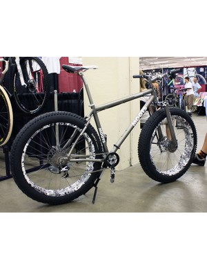 Moots' awesome snow bike makes another appearance.