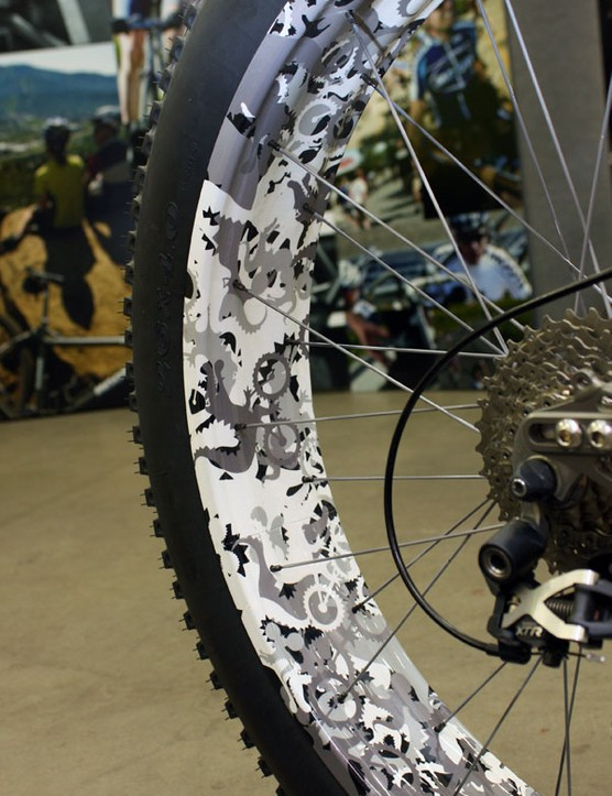 Moots estimates the intricate paint job alone took nearly sixty hours to complete.