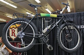 The Sendero Fauxgsley snow bike is built in expedition style.