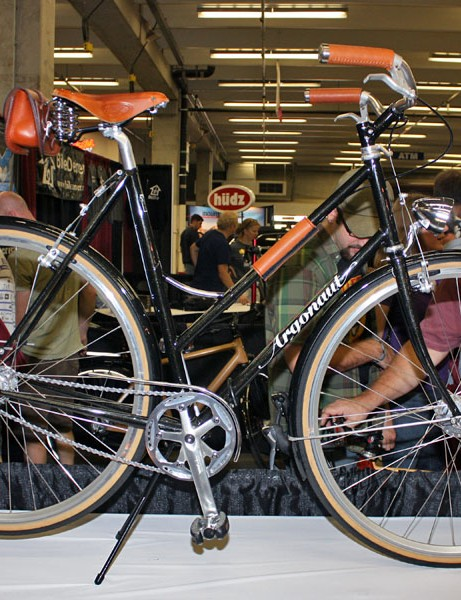 Argonaut's townie features elegant lines and leather accents.