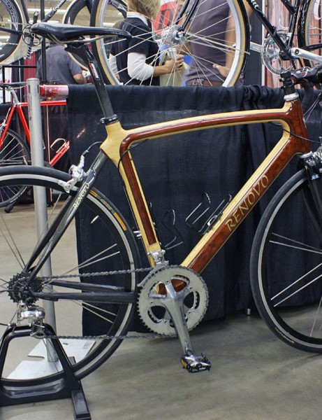 Renovo says it has produced the last of its frames with carbon rear ends.