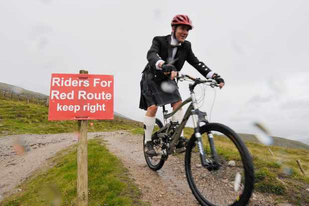 The Red Route opened in Scotland today; men in kilts rejoiced.