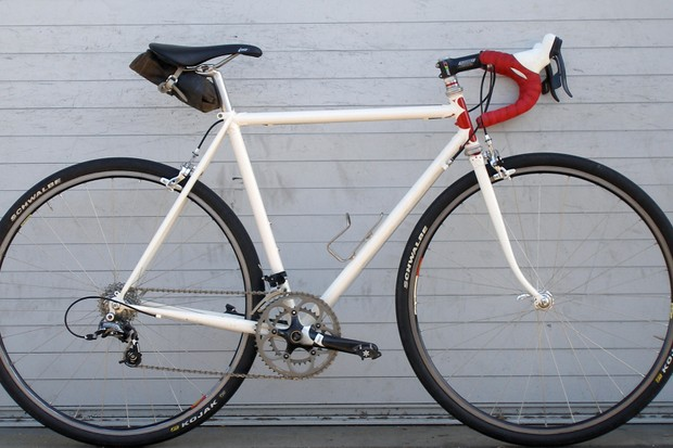 The new Rivendell Roadeo lugged steel club racer.