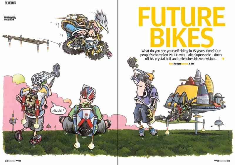 Bikes of the future