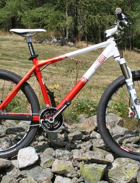 The rose Duchess women's hardail race bike