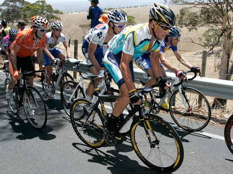 Lance Armstrong started his 2009 season with the Tour Down Under