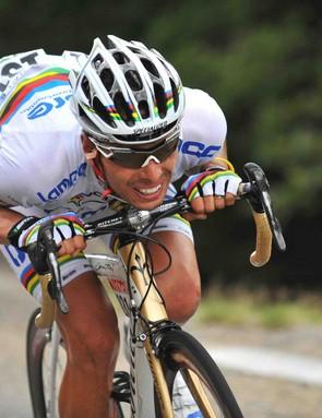 World road champion Alessandro Ballan.