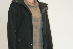 Sugoi's line of HOV urban clothing includes this stylish jacket, the Mobil Carbon