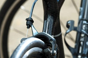 Planet X's own -brand touches such as its alloy seatpost mean you you can get the complete bike for a very low price