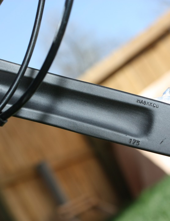 The solid-forged aluminum arms are durable but lighter and stiffer hollow-forged units would better suit the HammerSchmidt's premium price tag.
