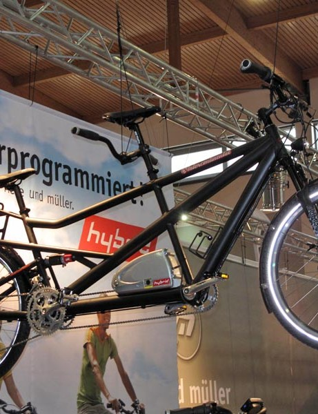 Another electric bike on display at Eurobike