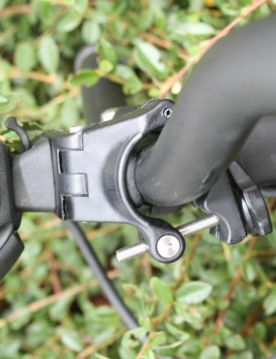 NiteRider Pro 1200 handlebar clamp