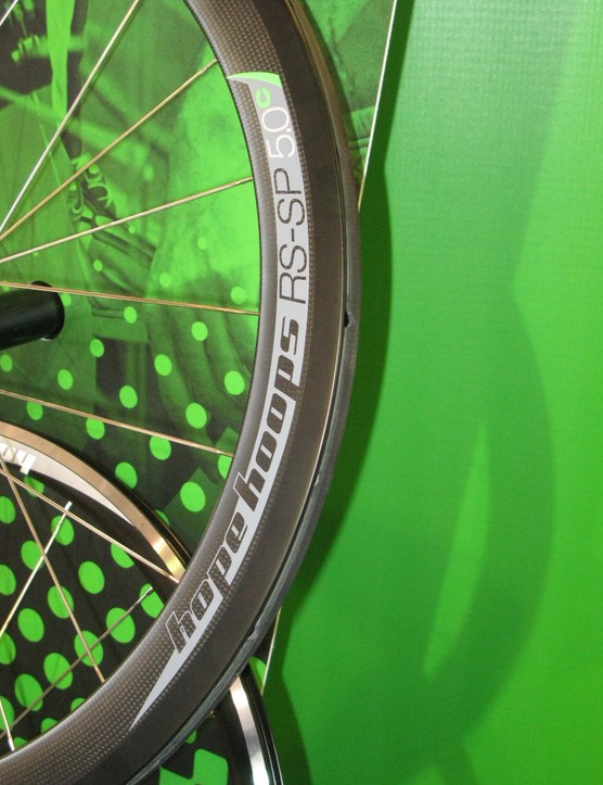 Hope's Hoops range of wheels now includes 50mm carbon fibre wheels in clincher and tubular incarnations.