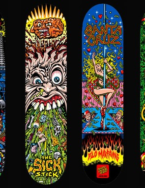 Phillips is known for his skateboard designs