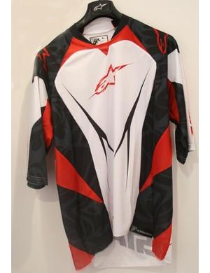 Gravity 3/4 sleeve jersey