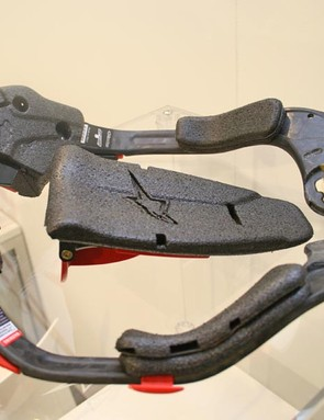 Carbon Bionic Neck Support dismantled
