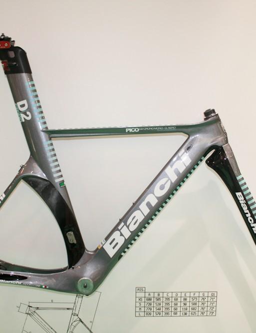 The Pico D2 Crono Mono-Q frameset