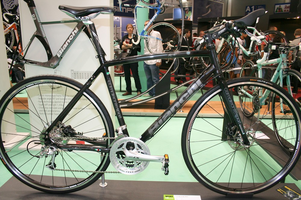 The all-carbon Camaleonte 6 sits atop Bianchi's urban line