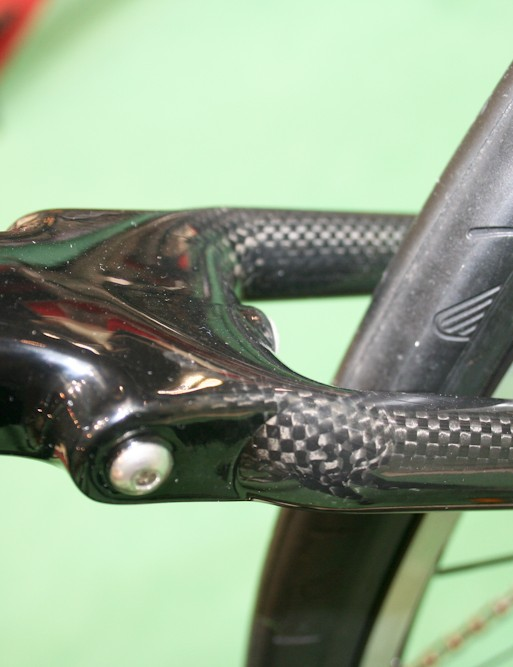 Rack mounts on the rear seat stays