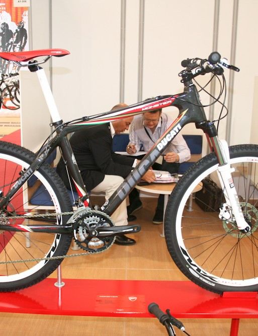 Ducati's Monster 800 carbon hardtail