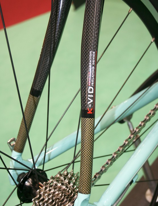 The She features the K-Vid Kevlar stays from the C2C