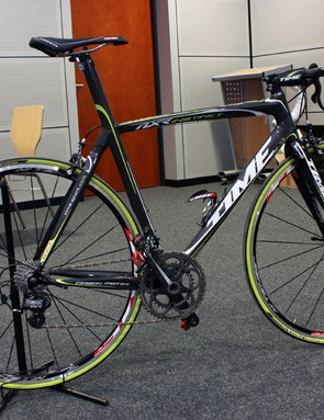 The new Time NXR Instinct will be offered in this keen looking black and green colour scheme…