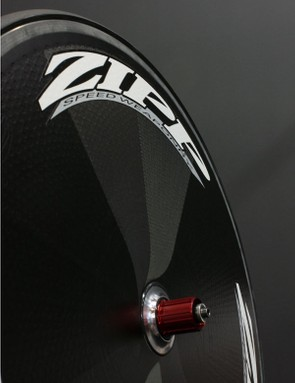 Zipp claims its new Super-9 disc wheel is virtually as aero as its Sub-9 but its flat 27mm-wide profile is more likely to fit in certain frames and delivers a stiffer ride.