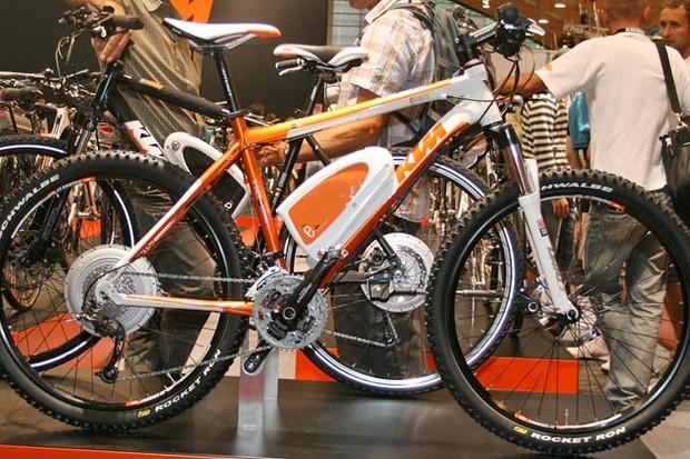 E race electric mountain bike