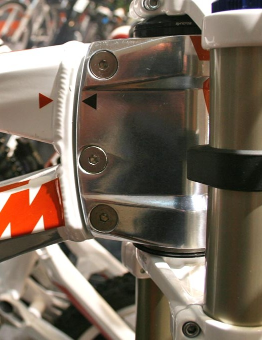 Adjustable headtube goes from 64 to 66 degrees