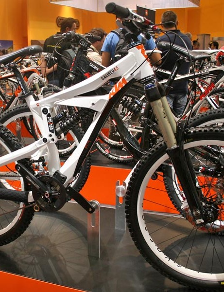KTM's Caliber 45 freeride bike for 2010