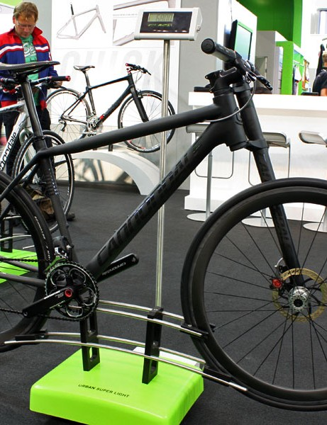 Cannondale doesn't current have plans to put the Flash Di2 concept bike into production - but then again, it's also said that before and previous concept bikes like the On, which is now offered in limited numbers.