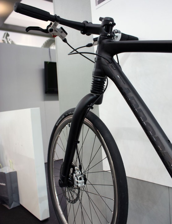 Fitted up front is Cannondale's Fatty Solo fork.