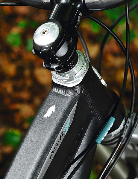 the asr 7 uses a tapered head tube