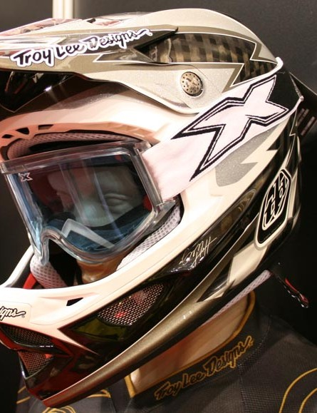 Sam Hill's signature D3 helmet