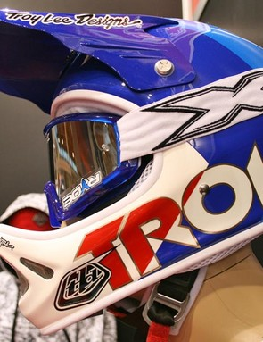 Blue Troy Lee lid