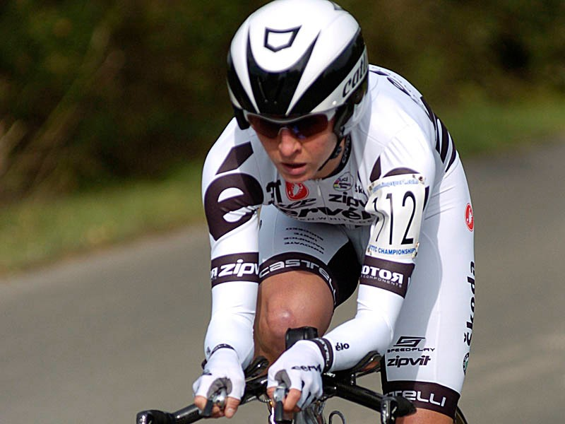 Emma Pooley was a convincing winner of the women's event