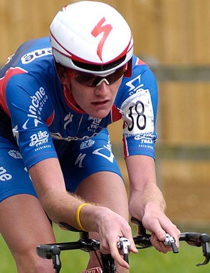 Joe Perrett won the juniors race